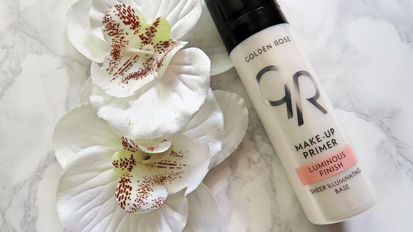 Golden Rose: Make-up Primer Luminous Finish -rozświetlająca baza pod makijaż