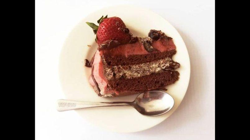 Ciasto owocowe, słodkości na garden party
