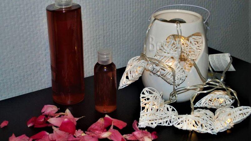 Przepis (DIY) woda różana