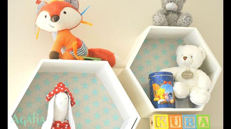 Półki do pokoju dziecka