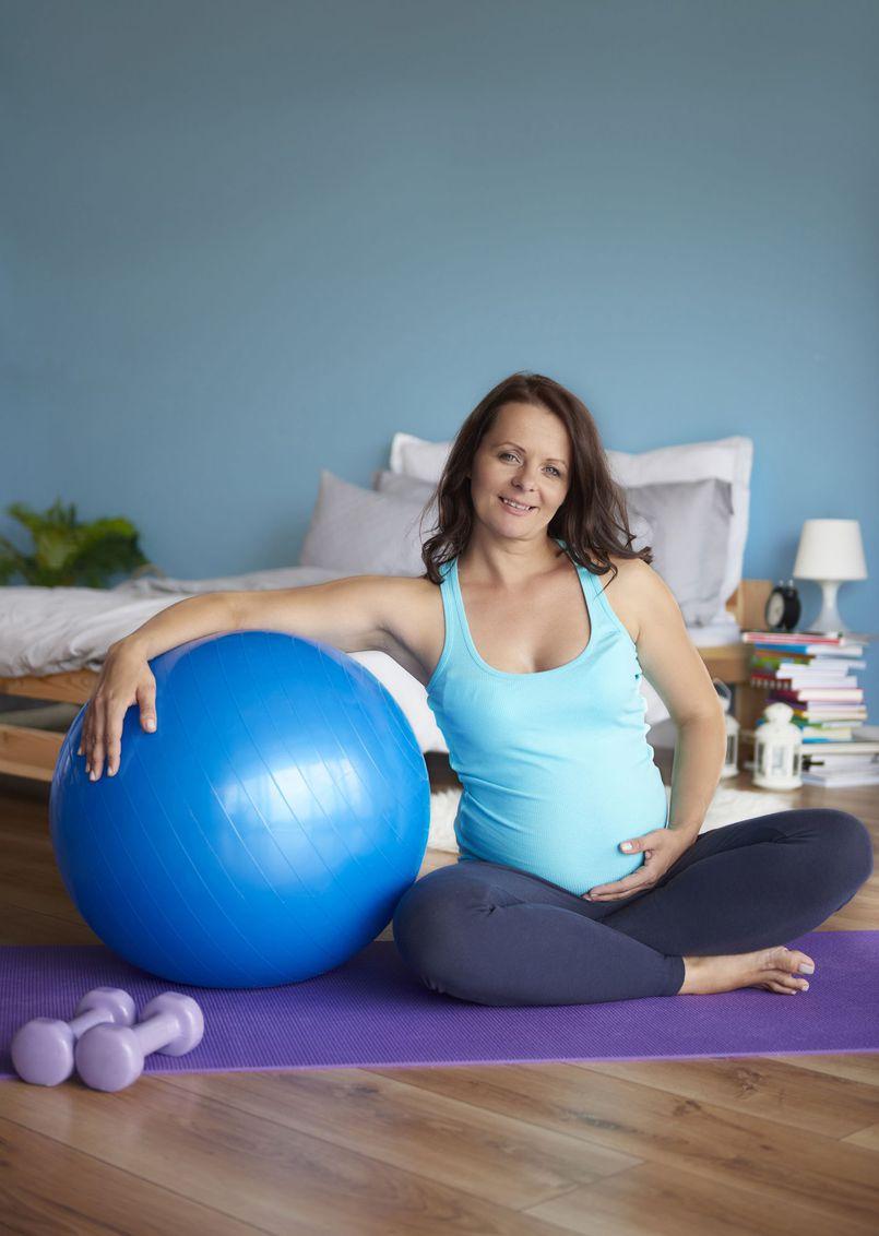 Jak pozostać w formie w czasie ciąży?