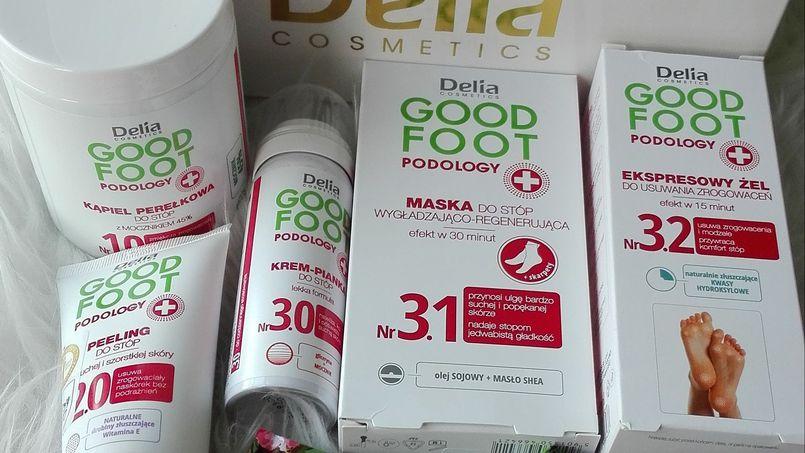 Dziś na blogu cała seria produktów do stóp Good Foot Podology Delia Cosmetics.