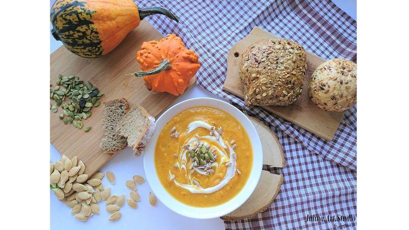 Zupa z dyni idealna na chłodne dni