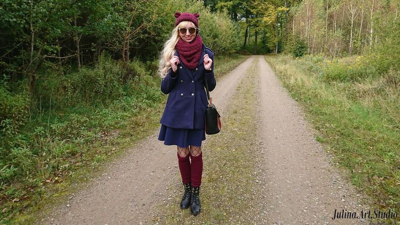 Bordo ulubiony kolor jesieni