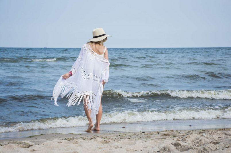 Moja plażowa stylizacja