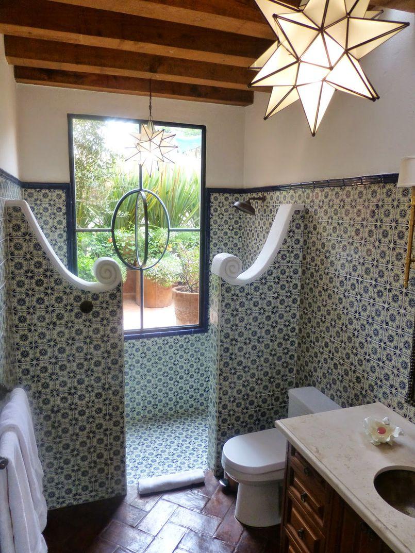 Łazienka w stylu hiszpańskim – klasyka prosto z Iberii
